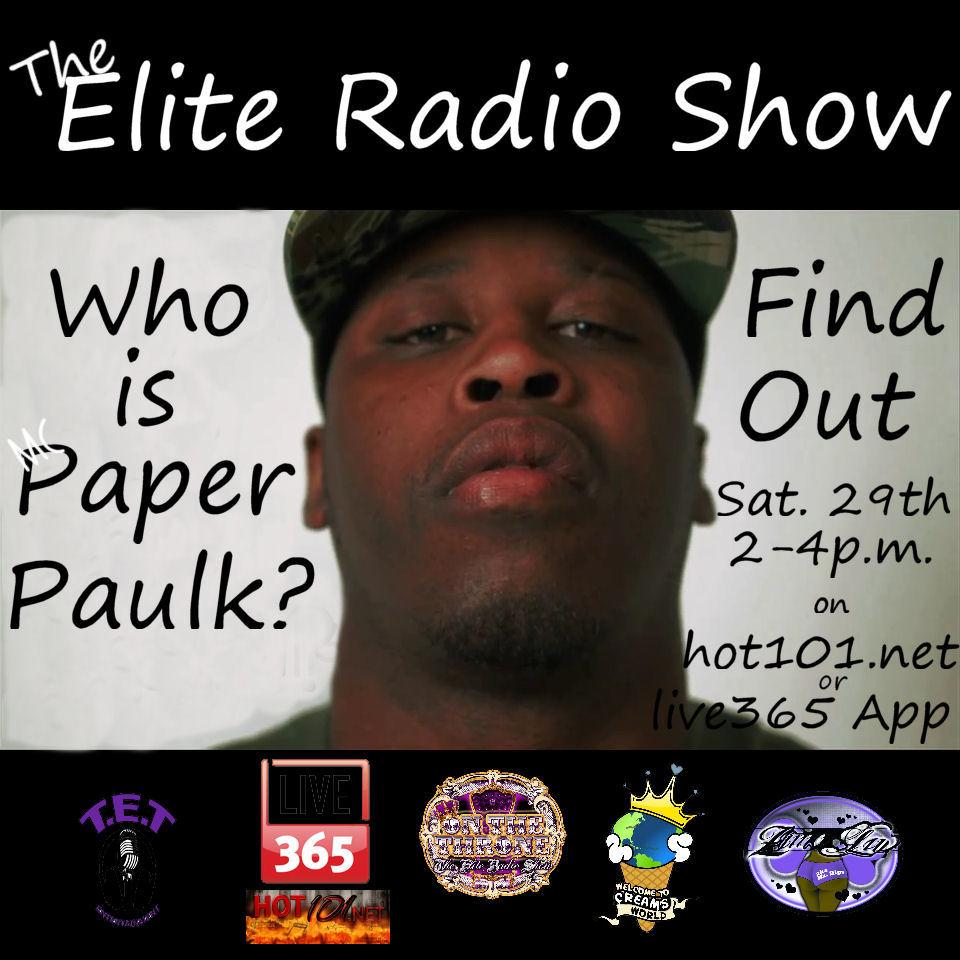 Paper Paulk flyer