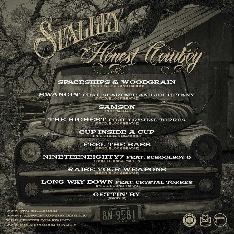 Stalley-Honest Cowboy-Back Cover