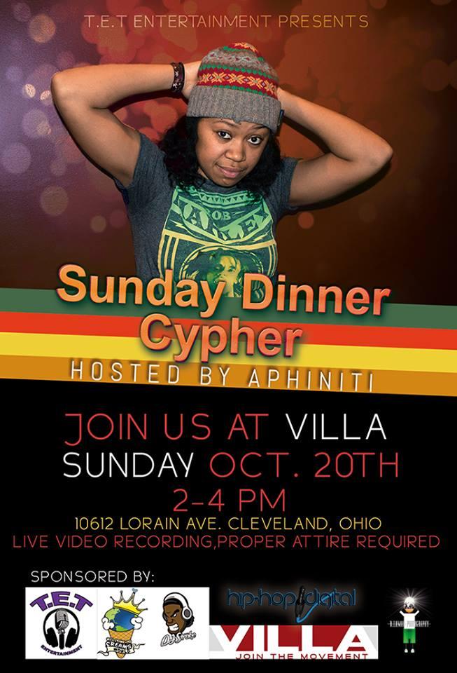 Sunday Dinner Cypher 2