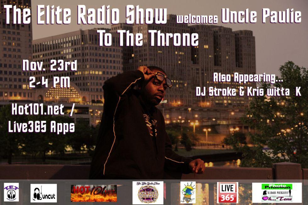 Uncle Paulie Flyer Elite Radio