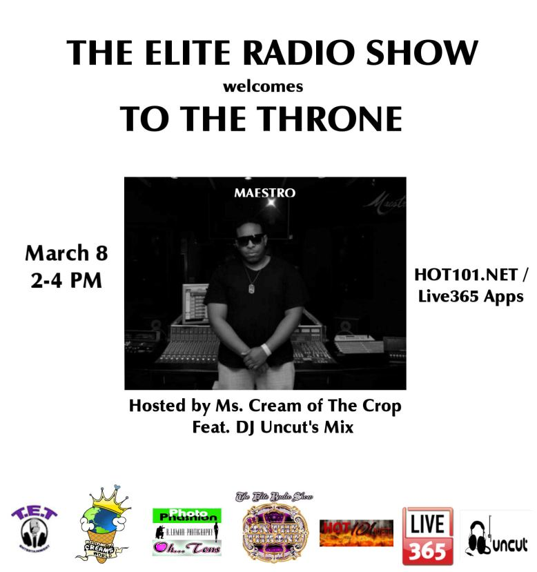 March 8.2 flyer