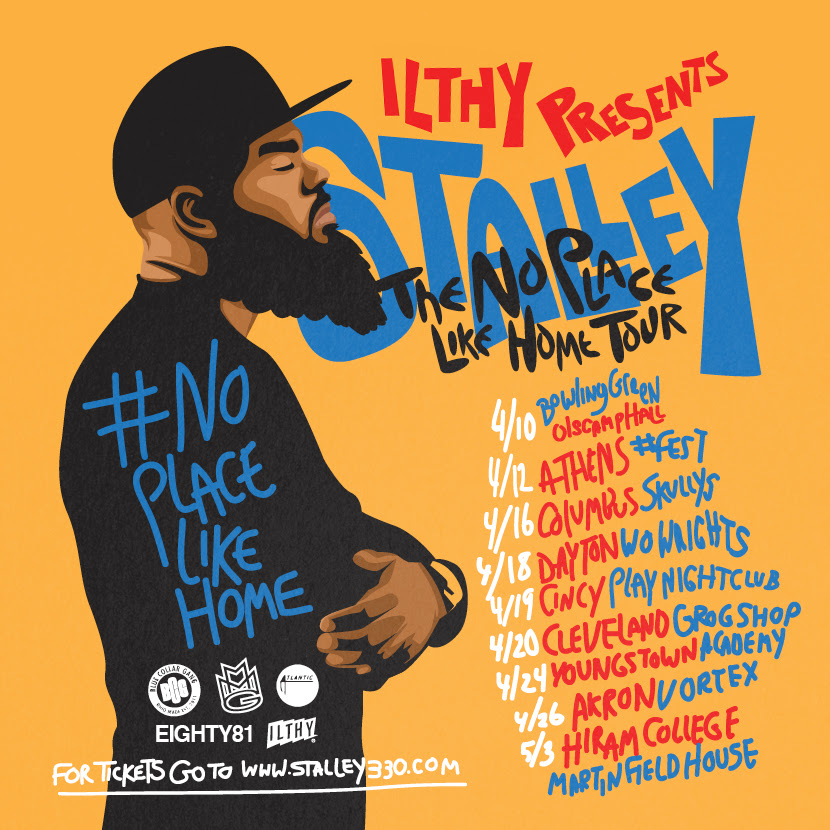 Stalley Yellow Flyer Front