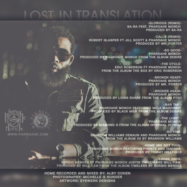 Pharoahe Monch Lost in Translation back cover