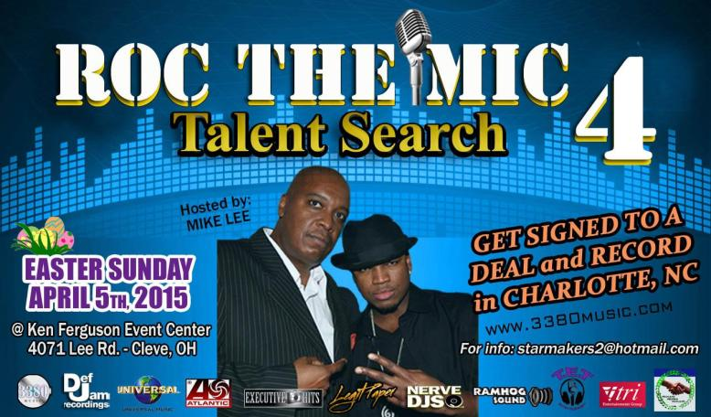 ROC THE MIC 4 -  C2 -Instagram Small Flyer