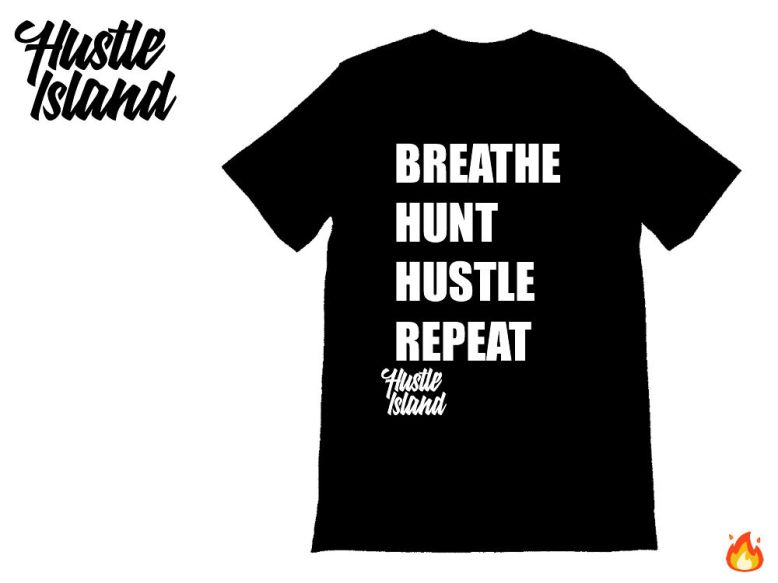Version 2 Hustle Island Contest Tshirt MS. CREAM OF THE CROP